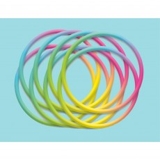 Awesome 80's Party Supplies - Rubber Bracelets