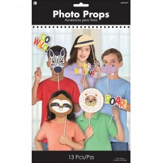 Jungle Animals Party Supplies - Photo Props Photo Booth