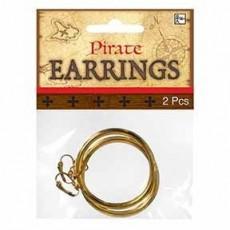 Pirate Hoop Earrings Head Accessorie