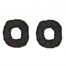 Black Hair Scrunchies Head Accessories