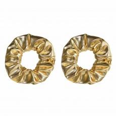 Gold Hair Scrunchies Head Accessories