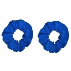 Blue Party Supplies - Hair Scrunchies