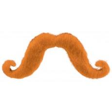Orange Moustache Head Accessorie
