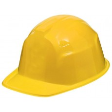 Careers Party Supplies - Construction Hat or Helmet Yellow