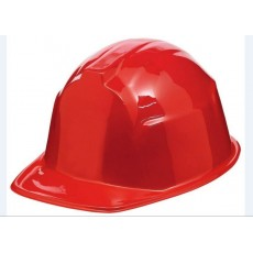 Careers Red Construction Hat or Helmet Head Accessorie