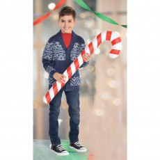 Christmas Inflatable Candy Cane Misc Decoration