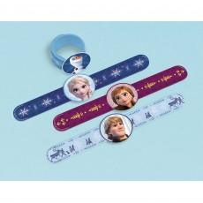 Disney Frozen 2 Slap On Bracelets Favours Pack of 4