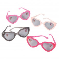 Minnie Mouse Forever Glittered Glasses Favours