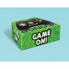 Level Up Gaming Party Supplies - Favour Boxes Controller