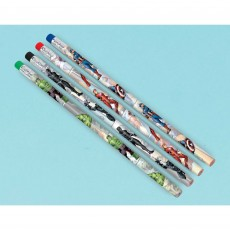 Avengers Party Supplies - Favours Marvel Powers Unite Pencils
