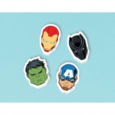 Avengers Party Supplies - Favours Marvel Powers Unite Erasers