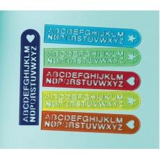 Alphabet Ruler Favours