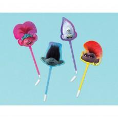 Trolls World Tour Pens Favours 28cm Pack of 8