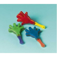 Happy Birthday Mini Hand Clappers Favours Pack of 12