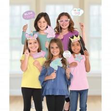 Unicorn Fantasy Party Supplies - Photo Props Unicorn Party