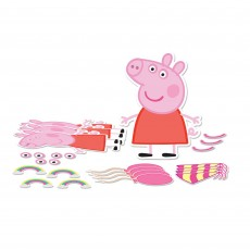Peppa Pig Party Decorations - Decorating Kits Confetti Party Craft