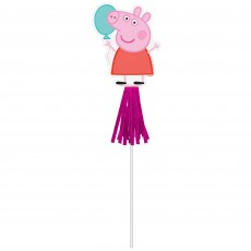Peppa Pig Party Supplies - Favours Confetti Party Wands