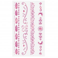 Girl-Chella Party Supplies - Favours Tattoos
