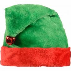 Christmas Party Supplies - Elf Plush Hat Child Size