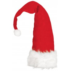 Christmas Party Supplies - Santa Plush Long Hat