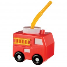 First Responders Party Supplies - Plastic Cup Fire Truck Sippy Cup