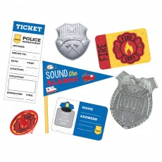 First Responders Party Supplies - Favours Mega Mix