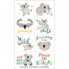 Koala Party Supplies - Favours Tattoos