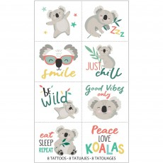 Koala Tattoos Favours