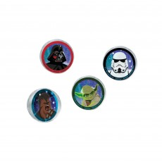 Star Wars Party Supplies - Favours Galaxy Bounce Balls