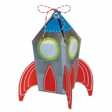 Blast Off 3D Rocket Treat Favour Boxes