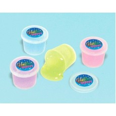 Happy Birthday Glitter Putty Favours Pack of 12