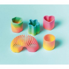 Happy Birthday Assorted Springs Favours Pack of 12