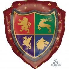 Gods & Goddesses SuperShape Medieval Shield Shaped Balloon