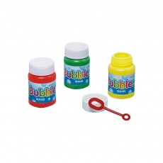 Multi Coloured Bubbles Pack of 6