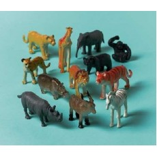 Jungle Animals Party Supplies - Favours Jungle Animal Figurines