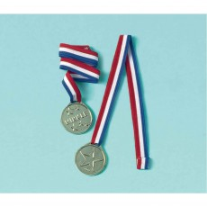 Sports Award Ribbon Favours Pack of 12