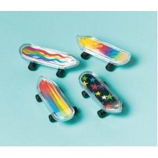 Happy Birthday Finger Skateboards Favours Pack of 12