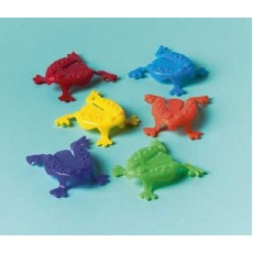 Happy Birthday Jumping Frogs Favours Pack of 12