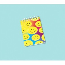 Emoji Smile Note Pad Favours Pack of 12