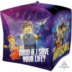 Lego Party Decorations - Shaped Balloon Ultra Lego Movie 2 Cubez XL