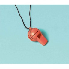 Basketball Fan Whistle Favours Pack of 12