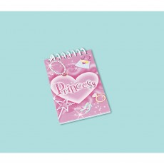 Princess Notepad Favours