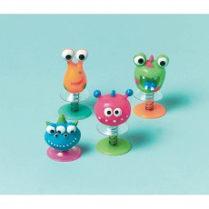 Happy Birthday Creature Pop-Ups Favours Pack of 12