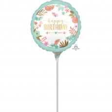 Boho Girl Foil Balloon