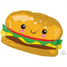 USA SuperShape Hamburger Shaped Balloon