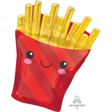 USA SuperShape XL French Fries Shaped Balloon