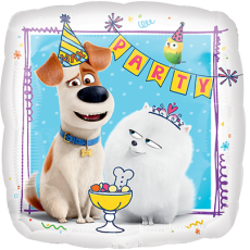 The Secret Life of Pets Jumbo HX Shaped Balloon