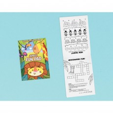 Jungle Animals Party Supplies - Favours Jungle Animal Fun Pads