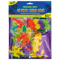 Prehistoric Dinosaurs Mix Value Favours Pack of 48