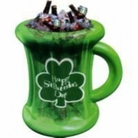 St Patrick's day Inflatable Beer Mug Cooler